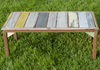 Picture of Rustic Beach Handmade Reclaimed Small Coffee Table Antique Pastel