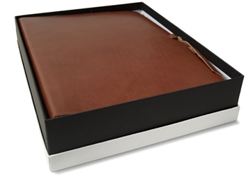 Personalised Handmade Leather Photo Albums Centralcrafts