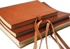 Picture of Rustico Handmade Leather Bound Large Photo Album Saddle Brown