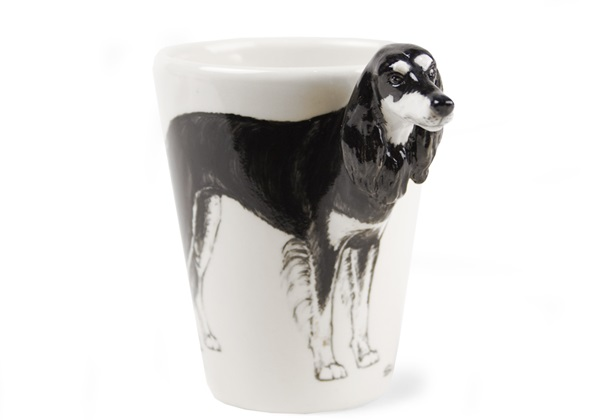 Picture of Saluki Handmade 8oz Coffee Mug Black