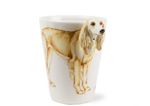 Picture of Saluki Handmade 8oz Coffee Mug Gold
