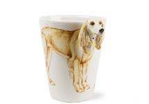 Picture of Saluki Handmade 8oz Coffee Mug Gold