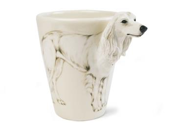 Picture of Saluki Handmade 8oz Coffee Mug White