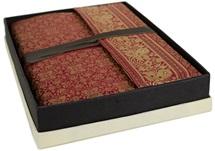 Picture of Sari Handmade Handbound A4 Journal Ruby Plain