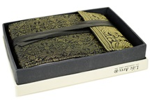 Picture of Sari Handmade Hand Bound Small Photo Album Black