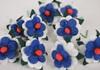 Picture of Scrappy Do Daisy Mini Embellishment Blue And White