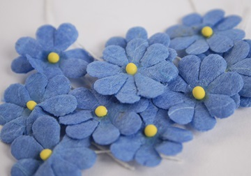 Picture of Scrappy Do Daisy Mini Embellishment Blue