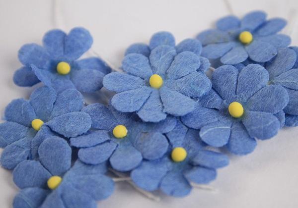 Picture of Scrappy Do Daisy Mini Embellishment Blue