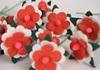 Picture of Scrappy Do Daisy Mini Embellishment Red And White