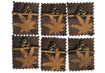 Picture of Scrappy Do Maple Small Embellishment Natural