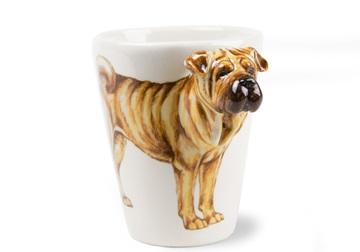 Picture of Shar Pei Handmade 8oz Coffee Mug Fawn