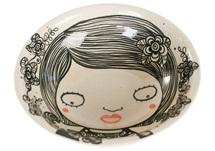 Picture of Shojo Handmade Ceramic Cereal Medium Bowl Monochrome