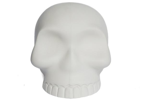 Picture of Skull Handmade Ceramic Large Money Pot Unpainted