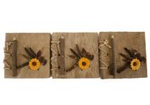 Picture of Spice Handmade Mini Journal Sunflower Plain