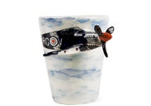 Picture of Spitfire Handmade 8oz Coffee Mug Black