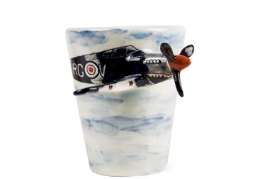 Picture of Spitfire Handmade 8oz Coffee Mug Black