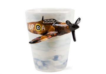 Picture of Spitfire Handmade 8oz Coffee Mug Brown