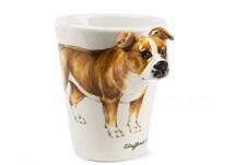 Picture of Staffordshire Bull Terrier Handmade 8oz Coffee Mug Fawn