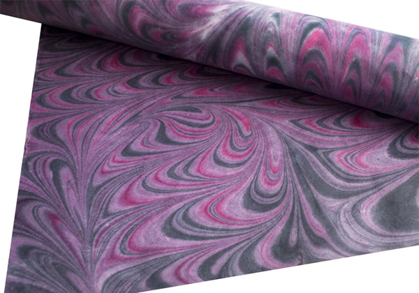 Picture of Tie dye Print Poster Paper Purple