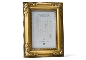 Picture of Versailles Handmade 4x6 Small Photo Frame Gold
