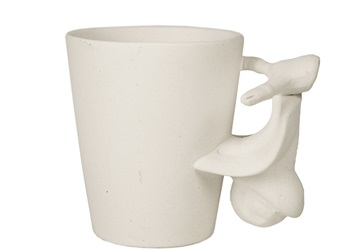 Picture of Vespa Handmade Ceramic 8oz Coffee Mug Unpainted