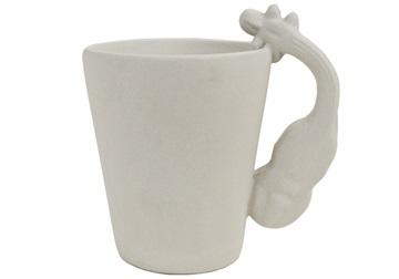 Picture of Violin Handmade Ceramic 8oz Coffee Mug Unpainted