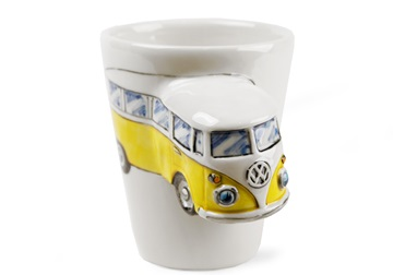 Picture of Camper Van Handmade 8oz Coffee Mug Yellow