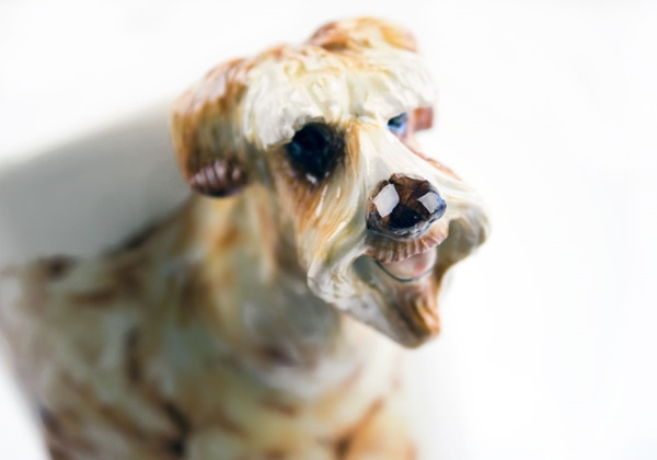 Picture of Wheaten Terrier Handmade 8oz Coffee Mug