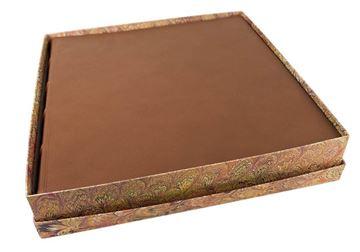 Picture of Empire Extra Large Chestnut Handmade Italian Leather Hardbound Photo Album