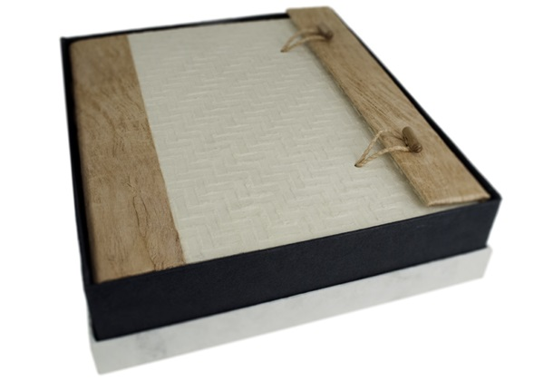 Picture of Japanese Handmade Large Photo Album Textured