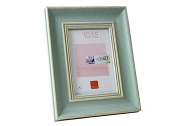 Picture of Constance Handmade 4x6 Small Photo Frame Turquoise