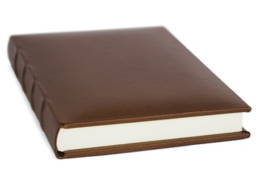 Picture of Empire Handmade Leather A6 Journal Chestnut Plain