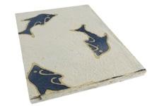 Picture of Batik Dolphin A4 Paper Blue