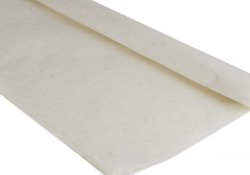Picture of Natural Bark Plain Poster Handmade Paper Ivory