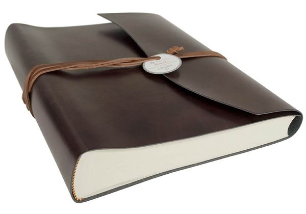 Picture of Romano Handmade Recycled Leather Wrap Large Photo Album