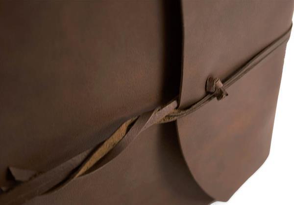 Picture of Capri Handmade Italian Leather Wrap Large Photo Album
