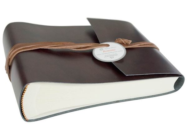 Picture of Romano Handmade Recycled Leather Wrap Small Photo Album