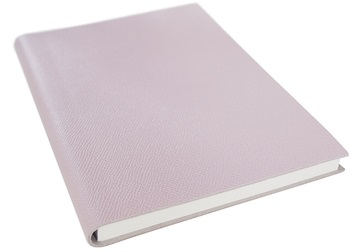 Picture of Italiano Handmade 100 % Italian Genuine Calf Leather A5 Journal Cross-grain Pink Plain