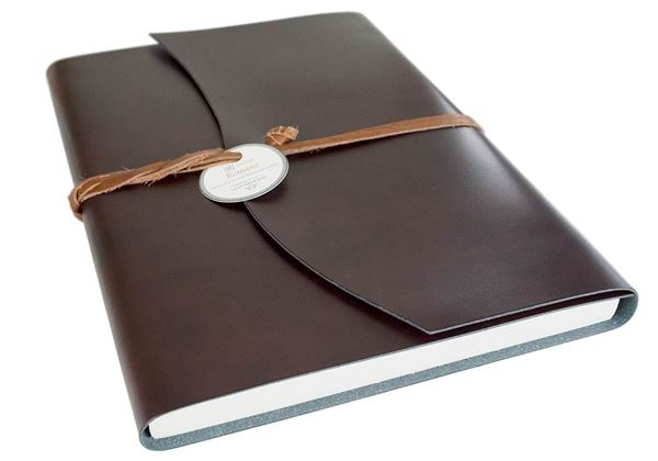 Picture of Romano Handmade Recycled Leather Wrap Extra Large Journal