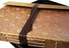Picture of Sari Handmade Hand Bound Large Photo Album Gold