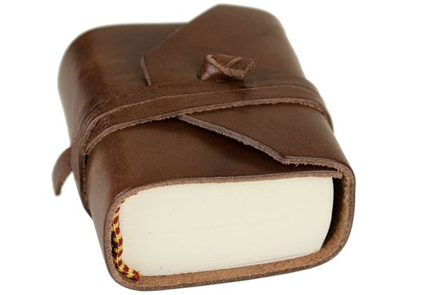 Picture of Firenze Classico Handmade Italian Leather Wrap Tiny Journal