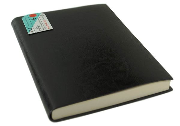 Picture of Journalista Handmade Recycled Leather Bound A5 Journal