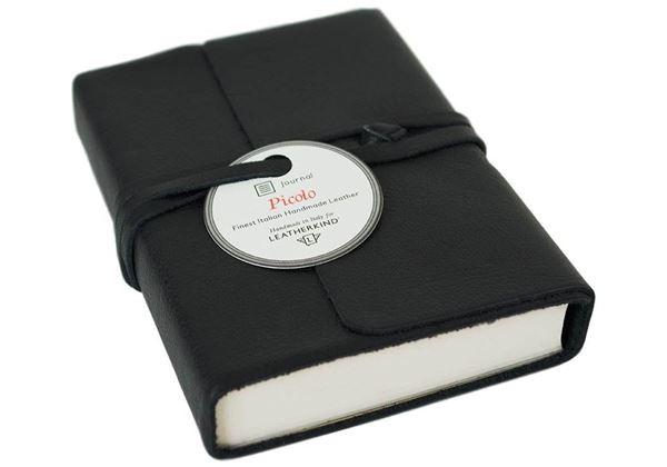 Picture of Picolino Handmade Leather Wrap Mini Journal