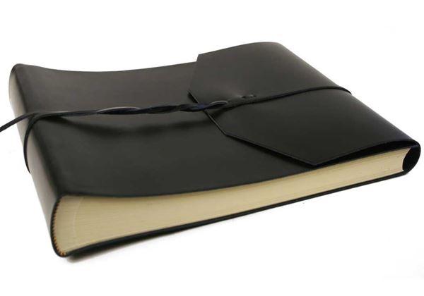 Picture of Positano Handmade Leather Wrap Large Photo Album