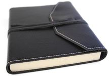 Picture of Tudor Handmade Leather Wrap A5 Journal