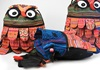 Picture of Ragworks Owl Adventure Small Backpack Rustic Rainbow