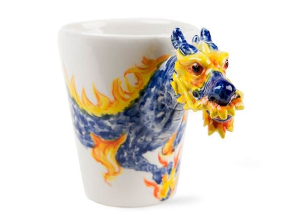 Picture of Dragon Handmade 8oz Coffee Mug