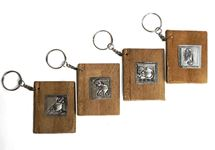 Picture of Siam Pico Handmade Keyring Tiny Journal