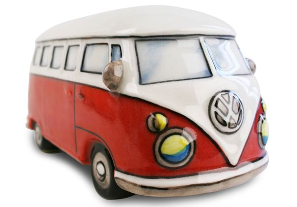 Picture of Vw Camper Van Handmade Ceramic Large Money Pot