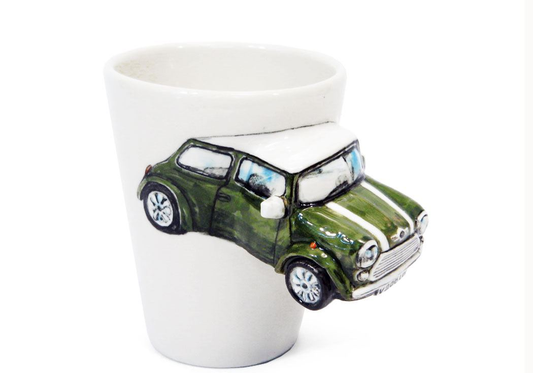 Mini Cooper Handmade 8oz Coffee Mug by Blue Witch | CentralCrafts ...